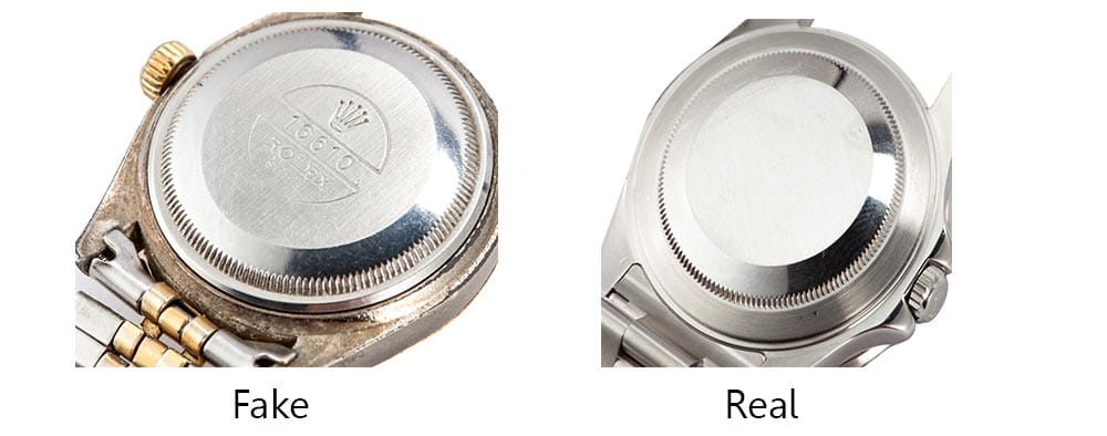 real-vs-fake-rolex-caseback wrist world