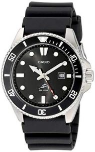 Casio MDV106-1A Black Analog - Wrist World