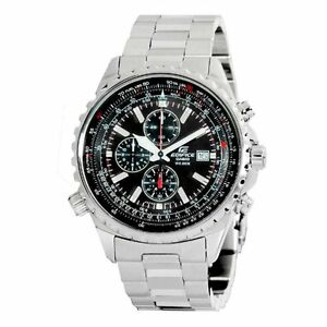 Casio Men's Edifice EF527D-1AV Stainless Steel - Wrist World