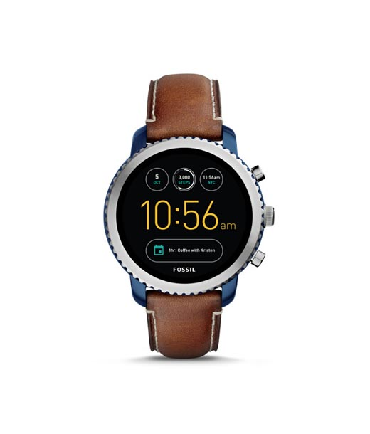 Dial Digital Analog Watch Showrooms in Chennai for Men Online Fossil FTW4004