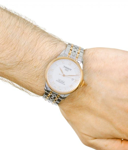 Tissot T0064072203300 Watches For Men in Chennai Online in hand wrist view